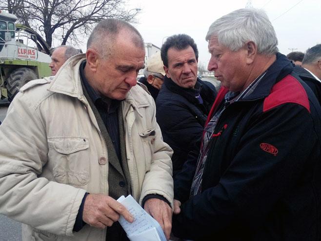 Mesud Pinjo, Mehmed Nikšić i Vladimir Usorac - Foto: SRNA