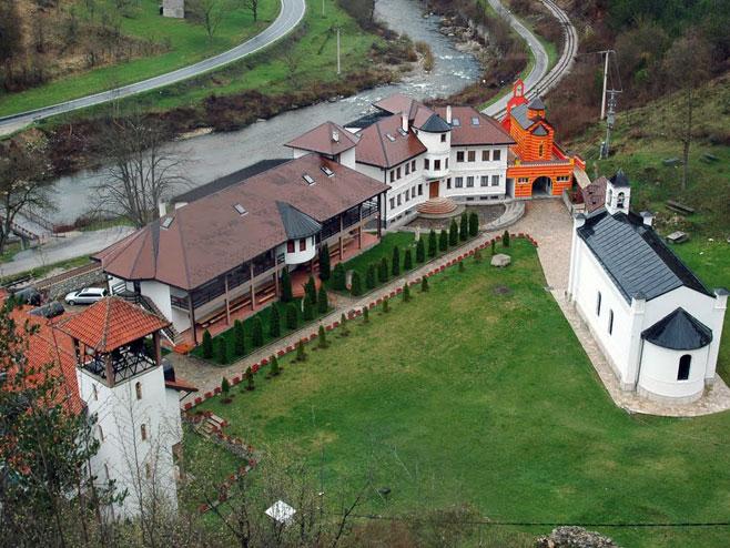 Višegrad - manastir Uspenija Presveta Bogorodice u Dobrunu - Foto: SRNA