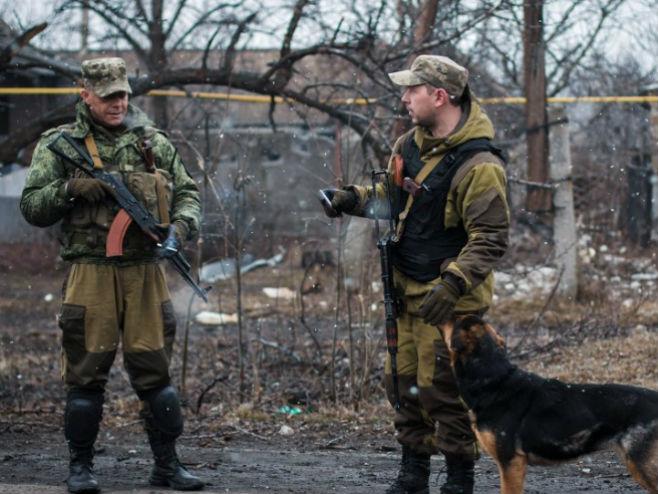 Vojnici u Donbasu (foto: © Sputnik/ Den Levi) -