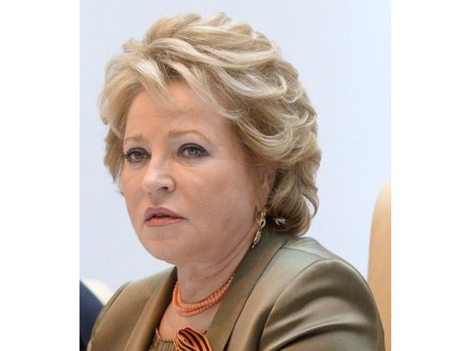 Valentina Matvijenko - Foto: AFP