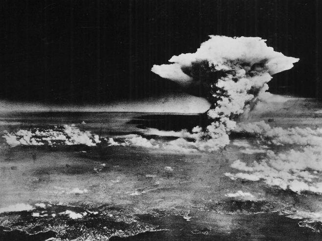 Atomska bomba bačena na Hirošimu - Foto: AP