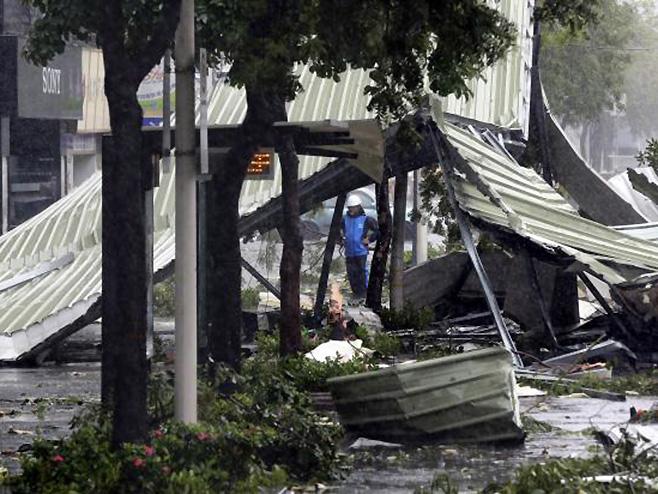 Tajfun u Tajvanu - Foto: AP