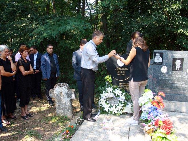 Goraždevac - Odata počast ubijenoj srpskoj djeci (arhiva) - Foto: SRNA