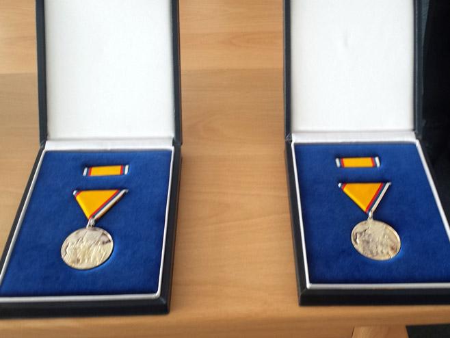 """Odlikovanja  """"Medalja zasluge za narod"""" - Foto: SRNA"""