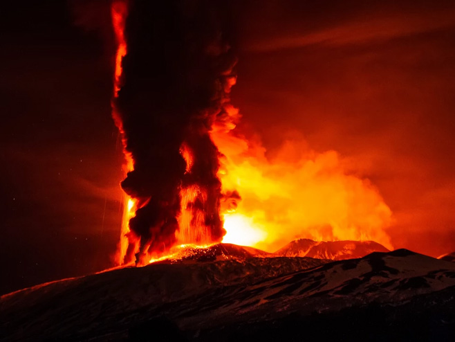 Vulkan Etna - Foto: The Telegraph