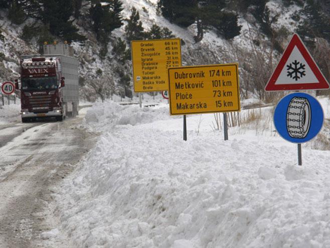 Snijeg u Hrvatskoj - Foto: ilustracija