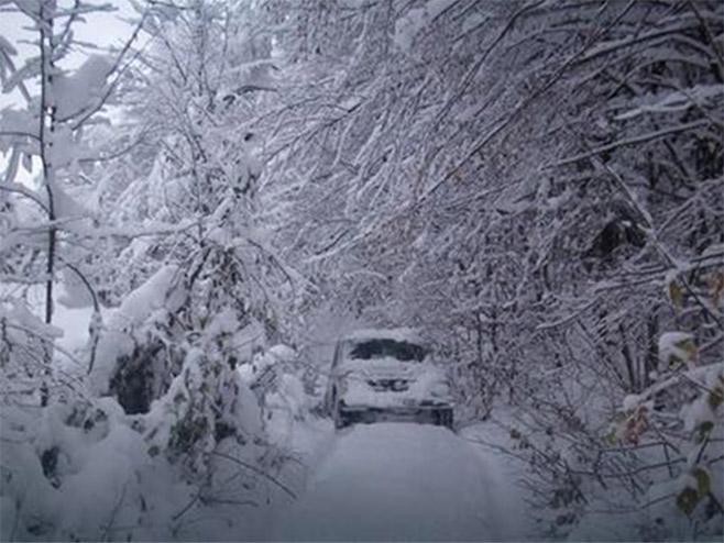 U Srbiji novi snijeg
