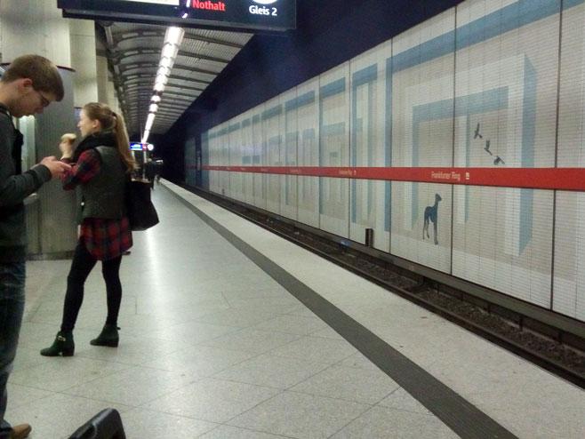 Metro - Foto: RTRS