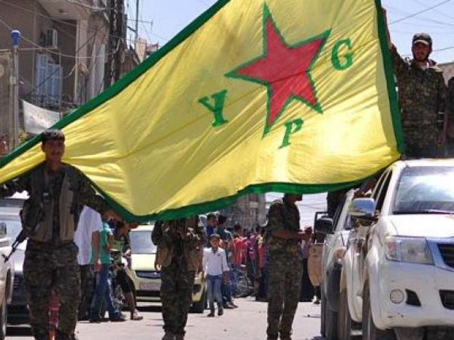 Kurdi u Siriji (foto: Twitter @ECentauri) -