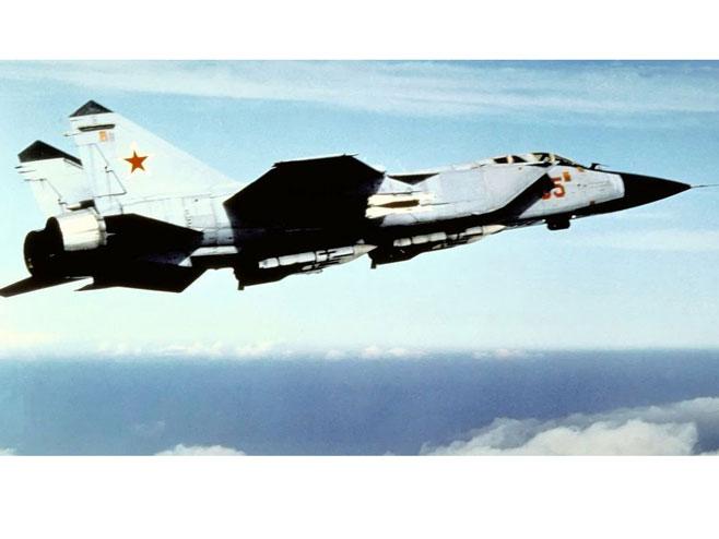 Ruski MiG-31 - Foto: Wikipedia