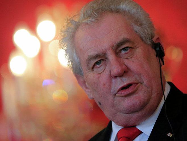Miloš Zeman - Foto: AFP