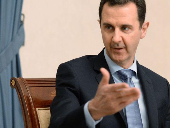 Bašar el Asad (Foto: Sputnik/Mikhail Voskresenskiy) -