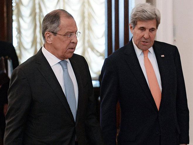 Lavrov i Keri (foto: © Sputnik/ Ilья Pitalev ) -