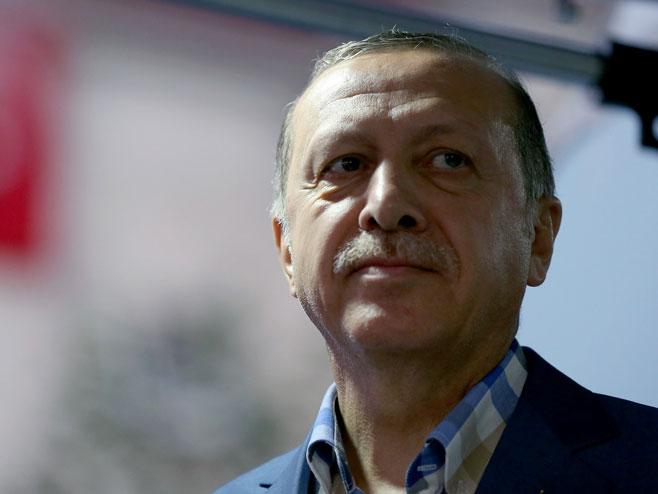 Redžep Tajip Erdogan (Foto: epa/STR) -
