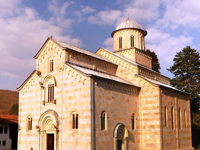 Manastir Visoki Dečani (Foto: Wikipedia/IsmailGagica) -