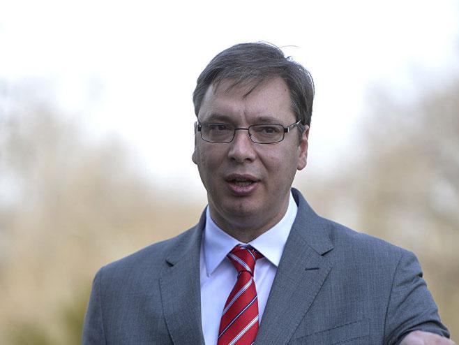 Aleksandar Vučić - Foto: TANЈUG