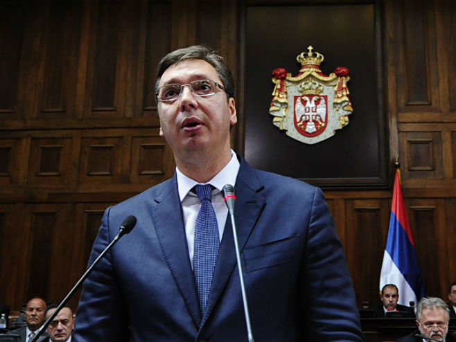 Aleksandar Vučić (foto: Tanjug/ Tanja Valič) -