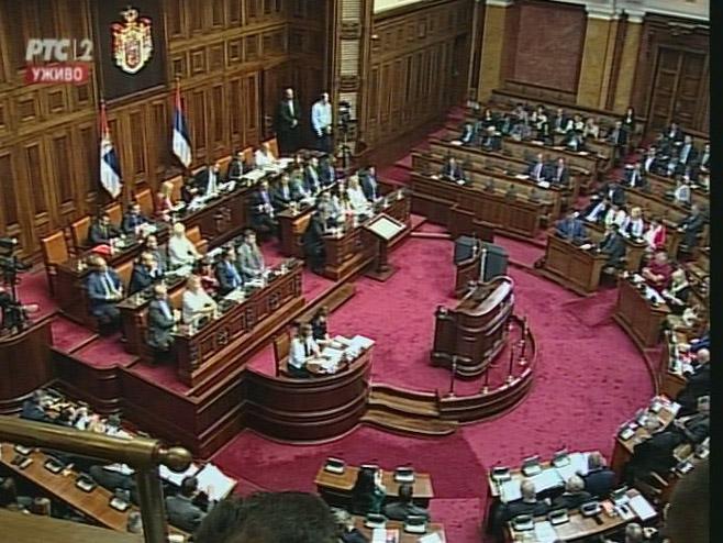 Skupština Srbije - Foto: RTRS