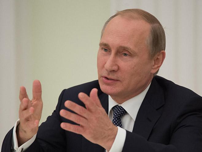 Vladimir Putin (Foto: Sputnik/Sergeй Guneev) -