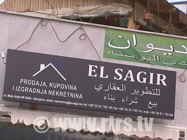 Arapi kupuju zemlju oko Sarajeva - Foto: RTRS