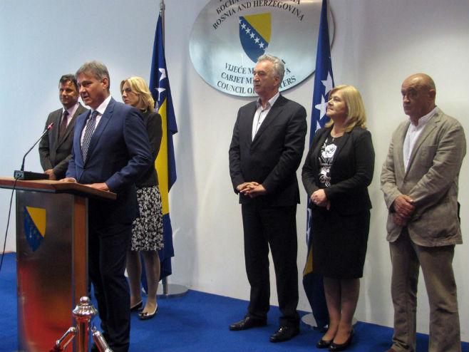 Sarajevo: Sastanak o mehanizmu koordinacije - Foto: SRNA
