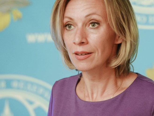 Marija Zaharova (Foto: Sputnik/Eugene Odinokov) -