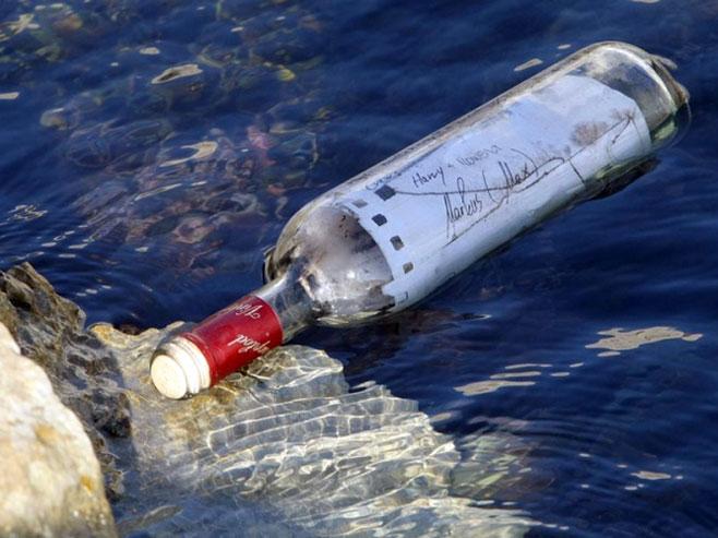 Poruku u flaši vratili vlasnici nakon dvije decenije - Foto: nezavisne novine