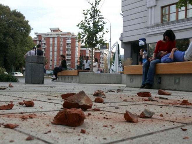 Zemljotres u Skoplju - Foto: nezavisne novine