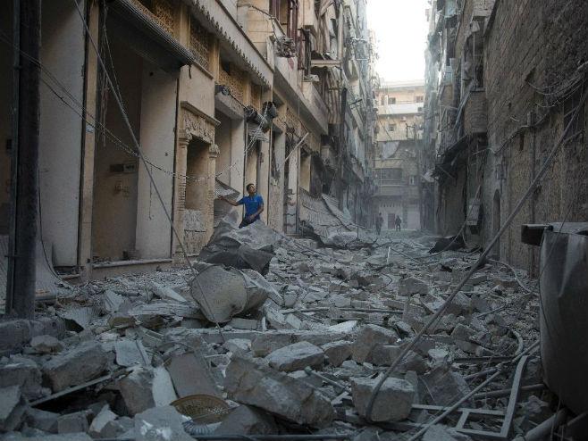 Alepo - Foto: AFP