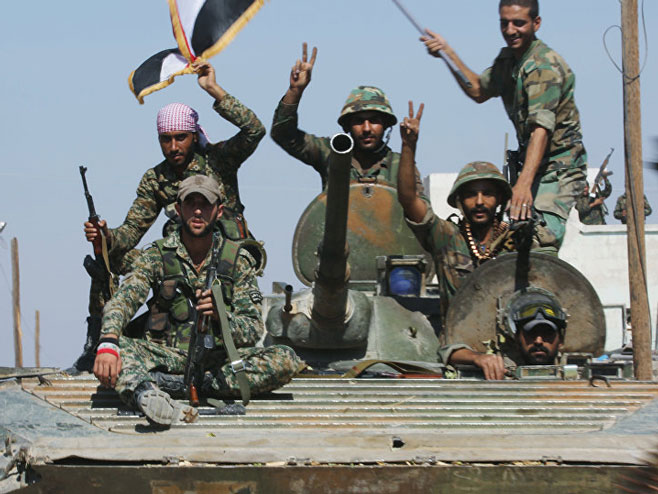 Sirijska vojska                                               (Foto:Sputnik) -