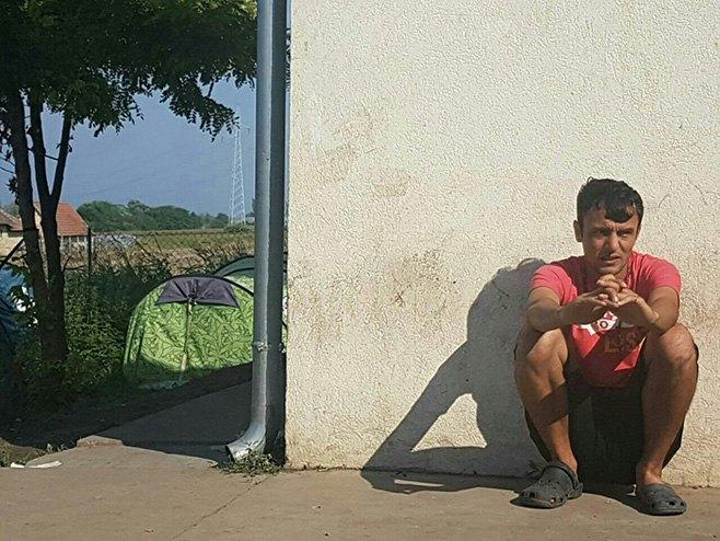 Tranzitni izbjeglički kamp u Subotici (Foto: RTRS / Ljiljana Preradović) -