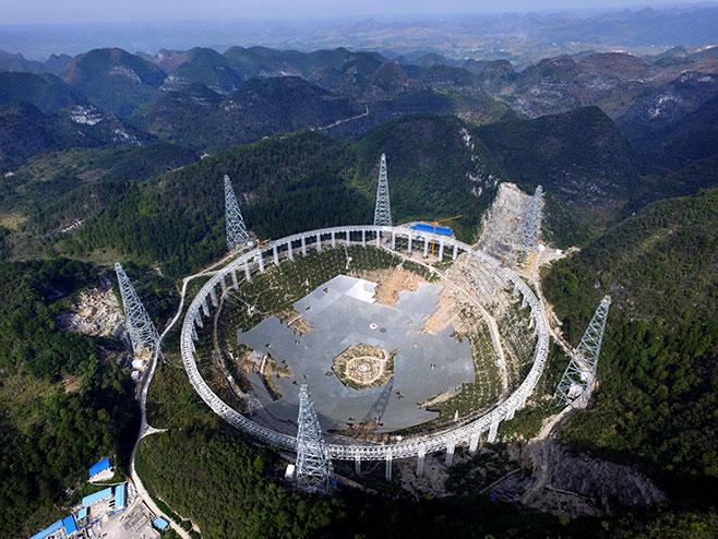 Kina, najveći radioteleskop na svetu počeo da radi! (foto:epa/STR) -