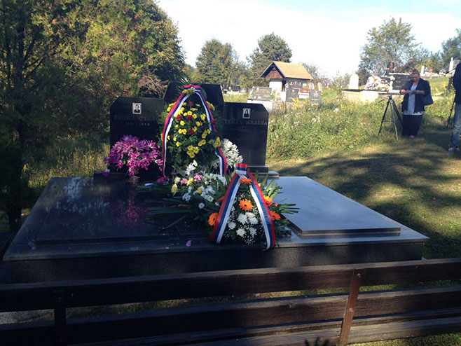 Obilježeno 25 godina od stradanja majora Milana Tepića - Foto: RTRS