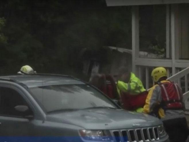 Evakuisan grad u Sjevernoj Karolini zbog poplave - Foto: Screenshot/YouTube