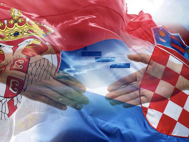 Srbija - Hrvatska - Foto: RTRS