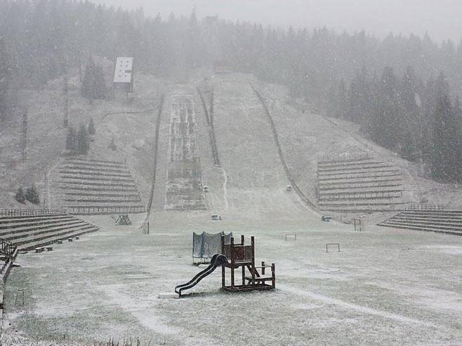 Snijeg na Igmanu - Foto: klix.ba