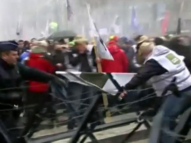 Protesti u Briselu - Foto: EuroPics