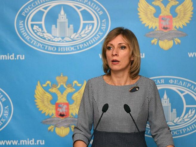 Marija Zaharova (Foto: Sputnik) -