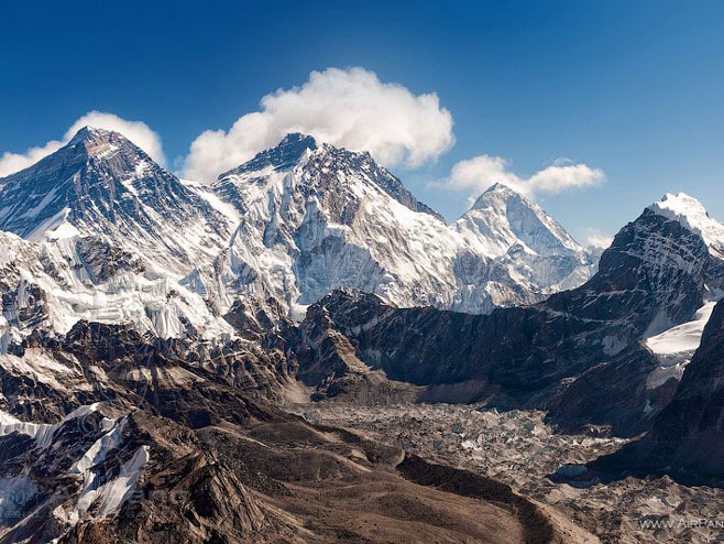 Mont Everest (Foto:airpano.com) -
