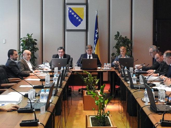 Sjednica Savjeta ministara BiH - Foto: SRNA