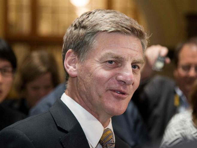 Bil Ingliš, premijer Novog Zelanda - Foto: AFP