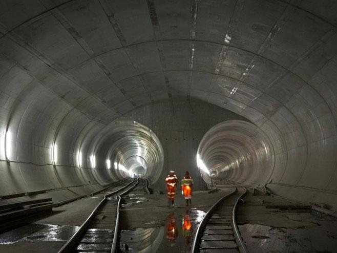 Otvoren najduži tunel na svijetu - Foto: ilustracija
