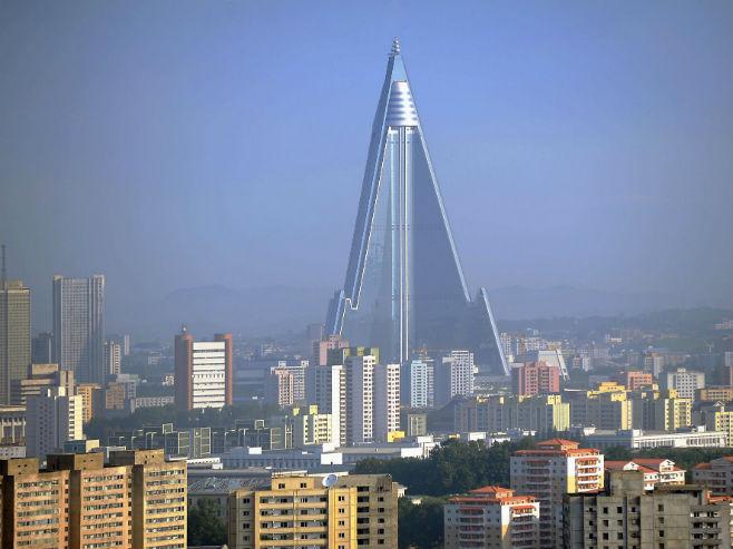 Najveći hotel na svijetu u Pjongjangu (Foto: Alamy) -