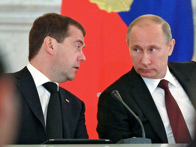 Medvedev i Putin imenovali novu Vladu
