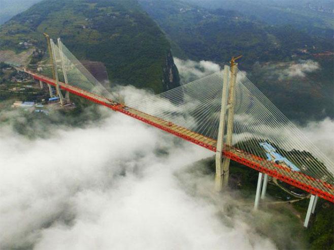 Najviši most na svijetu - Foto: RTS
