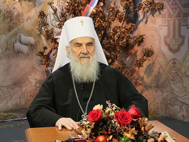 Patrijarh Irinej (Foto:spc.rs) -