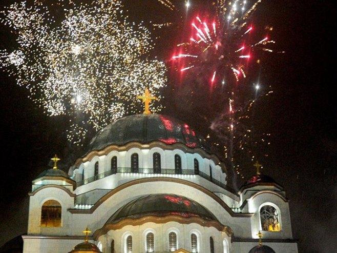 Pravoslavna nova godina - Foto: TANЈUG