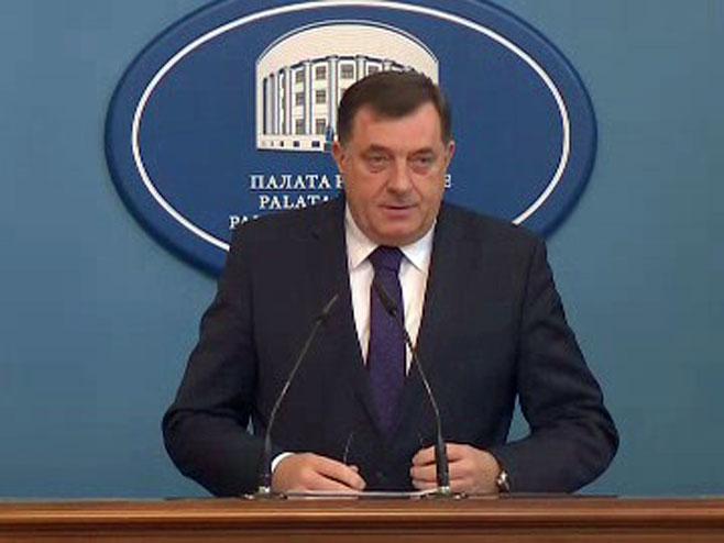 Dodik: Sankcije su dokaz da nisam bio spreman da