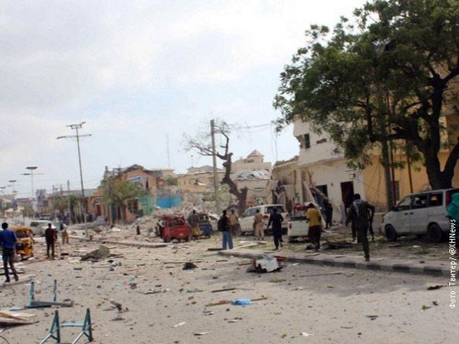 Eksplozija u Mogadišu - Foto: RTS