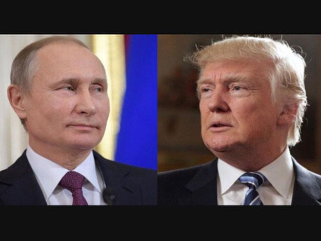 Vladimir Putin i Donald Tramp - Foto: RTRS